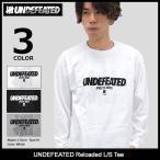 アンディフィーテッド UNDEFEATED Tシャツ 長袖 メンズ リローデッド(Reloaded L/S Tee カットソー トップス ロンt 男性用 5990900)