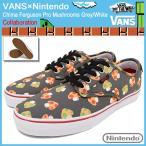 バンズ VANS スニーカー メンズ 男性用 ニンテンドー チマ ファーガソン プロ Mushrooms Grey/White(VN-0003CHJZL Nintendo)