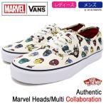 バンズ スニーカー VANS レディース & メンズ マーベル オーセンティック Marvel Heads/Multi コラボ(VN0A38EMRNU VANS×MARVEL Authentic)
