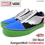バンズ スニーカー VANS メンズ 男性用 マーベル オールドスクール Avengers/Multi コラボ(VN0A38G1U3V MARVEL Old Skool アベンジャーズ)