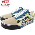バンズ スニーカー VANS メンズ 男性用 オールドスクール Multi/True White バンズ マッシュ アップ(VN0A38G1VRO Old Skool Vans Mash Up)