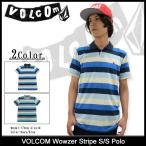 ショッピングボルコム ボルコム VOLCOM ポロシャツ 半袖 メンズ ワウザー ストライプ(VOLCOM Wowzer Stripe S/S Polo ポロ トップス メンズ 男性用 A0121500)
