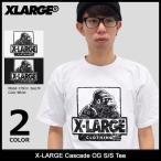 エクストララージ X-LARGE Tシャツ 半袖 メンズ カスケード OG(x-large Cascade OG S/S Tee カットソー トップス M17A1103)
