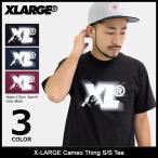エクストララージ X-LARGE Tシャツ 半袖 メンズ カメオ シング(x-large Cameo Thing S/S Tee カットソー トップス M17C1107)