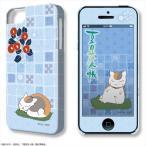 デザジャケット 夏目友人帳 iPhone 5/5s/SEケース&保護シート デザイン04(椿)