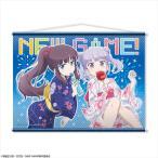 TVアニメ「NEW GAME!」 B2タペストリー デザイン01(涼風青葉&滝本ひふみ/浴衣ver.)