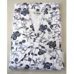 婦人用寝間着 二重ガーゼねまき LLサイズ(広巾) 前合わせ 日本製