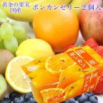 ポンカン 国産 ゼリー 2連(2個入140g×2)果物 ギフト 手土産 プレゼント 母の日 父の日