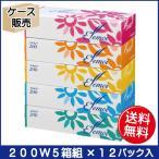 エルモア ティシュー200W 5箱組 12パック入 3月29日0時までの限定特価!
