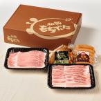 しゃぶしゃぶ用 ロース・バラ 豚肉 ウインナー 角煮 900g もちぶた 宮城県産 ギフト ギフトセット お中元 お歳暮 M02