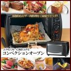 コンベクションオーブン TWINBIRD ツインバード TS-4118B ブラック ムラなく均一に焼き上げる 本格的なピザ 肉料理に
