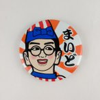 【くいだおれ太郎 缶バッジ】大阪 お土産 おみやげ みやげ 大阪土産 バッチ グッズ キャラクター かわいい 雑貨 カバン 鞄 プレゼント 期間限定