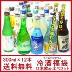 【クール代込】日本酒 飲み比べ セット 12本 300ml×12本 [包装込]ワイン紀行オリジナル 送料無料 ギフト プレゼント