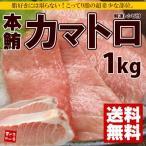 【送料無料】まるで高級霜降り肉!貴重な本マグロのカマトロをずっしり1kg!大トロ以上の強烈な脂のり 《pbt-bf18》〈bf1〉yd9[[本鮪カマトロ1kg]