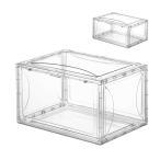 【割引5〜10%】送料無料 シューズボックス  4個セット 収納ボックス スニーカー 収納ケース 靴 プラスチック 大容量 靴棚 組立て式 化粧品収納 玄関収納