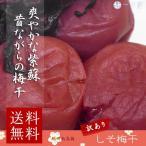 訳あり 紀州南高梅 紫蘇 昔ながらのすっぱい しそ梅干し 塩分20% 400g (100g×4)