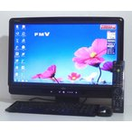 デスクトップパソコン一体型 送料無料 Windows7 富士通 FH570/5BM 20インチワイド液晶 Core i5 2.67GHz 1000GB ブルーレィ 地デジ 無線 即使用可