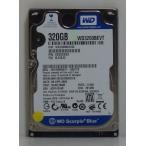 内蔵ハードディスク2.5インチ Western Digital製 WD3200BEVT 320GB SATA接続 動作確認済 クリックポスト便送料無料 代引不可