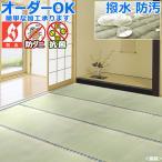 い草 カーペット 上敷き 撥水『備前』江戸間 6畳 261×352cm