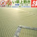 ショッピングい草 い草カーペット 上敷き 六畳 6畳 萩 本間 286×382cm 5サイズ規格 2畳〜8畳 送料無料 アイコン