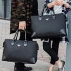 Yahoo!iCoupトートバッグ メンズ ビジネスバック レディース ハンドバッグ ビジネスバッグ かばん 大きめ A4 防水 出張 修学旅行 通勤 通学 軽量 就職 おしゃれ