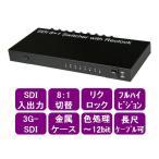 シリアルデジタル切替器 8対1  3G-SDI , HD-SDI , SD-SDI対応 リクロック