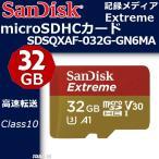 EXTREME シリーズ SANDISK SDSQXAF-032G-GN6MA R100MB s