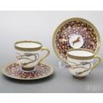 エルメス シュバルドリアン(シュヴァルドリアン) 9817 コーヒーカップ&ソーサー ペア