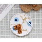 マリメッコ ウニッコ プレート 13.5cm ベージュ/オフホワイト/ブルー marimekko UNIKKO