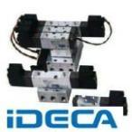 ショッピングGW GW54875 4方向電磁弁 プラグコネクタ式 AC100Vベース配管型
