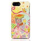 iPhone7 Plus iPhone8 Plus ハードケースカバー 素敵なおくりもの 素敵なおくりもの イラスト 色えんぴつ 絵本 tontenkan