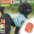 犬の服 iDog オレンジボーダータンク 防虫 moscape アイドッグ