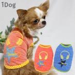 犬の服 iDog ヘッドフォンメッシュタンク アイドッグ