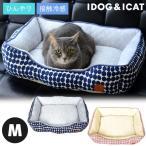 IDOG ICAT ひんやりBOXベッド ドット Mサイズ