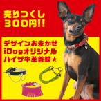 デザインおまかせ 1点300円 売りつくしセール 牛革犬首輪