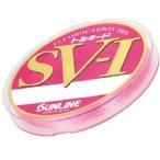 サンライン(SUNLINE) ハリス トルネード SV1 HG フロロカーボン 100m 4号 マジカルピンク