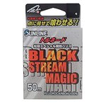 サンライン(SUNLINE) ハリス トルネード 松田スペシャル競技 ブラックストリーム マジック フロロカーボン 50m 3.5号