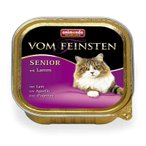 アニモンダ キャットフード フォムファインステン シニア 鶏肉と子羊肉 パテ状 「100g」シニア猫用