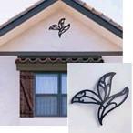 ニチハ 壁飾り・妻飾り FFA5388 トライリーフタイプ ヨーロピアンウォールアクセサリー