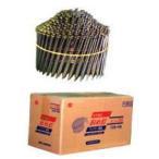 ワイヤー連結釘(ステンスクリュー) 竹の子型 MN21-38 ステンスクリュー 400本×10巻×2箱入
