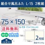 ショッピング風呂 風呂ふた 送料無料 オーエ 組合せ風呂ふた L-15 2枚組(配送区分A)sp