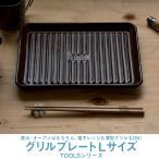 TOOLS グリルプレート Lサイズ  ツールズ アウトドア 焼き魚 キャンプ グランピング ベランピング イブキクラフト 伊吹クラフト 陶器製 日本製