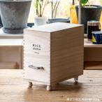 米びつ ライスストッカー 桐 木製 米櫃 10kg用 199050