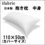 羽毛タッチのシリコン綿を使用した日本製枕中身ロングクッション