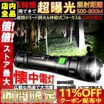 LED懐中電灯 USB充電式 ハンドライト ミニ型 led懐中電灯 ハンディライト ズーム機能 フラッシュライト 超高輝度 爆光 防水 防災グッズ