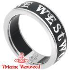 ヴィヴィアンウエストウッド Vivienne Westwood 指輪 リング コンジットストリートリング ブラック