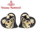 ショッピングWestwood ヴィヴィアンウエストウッド Vivienne Westwood ピアス ヴィヴィアン エリザベスピアス ブラック×ゴールド