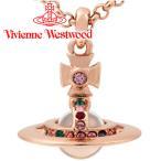 ヴィヴィアンウエストウッド Vivienne Westwood ネックレス ヴィヴィアン プチオーブペンダント ピンクゴールド 【クリスマス プレゼント】