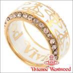ショッピングヴィヴィアン ヴィヴィアンウエストウッド リング 指輪 メンズ レディース Vivienne Westwood ヴィヴィアン タリクリング ホワイト×ゴールド