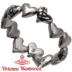 ヴィヴィアンウエストウッド リング 指輪 レディース Vivienne Westwood ハート ヴィヴィアン ロザリンダリング ガンメタル